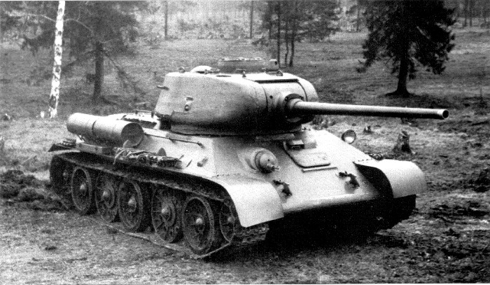 Танк Т-34-85, 1944 год. /Фото: nocookie.net