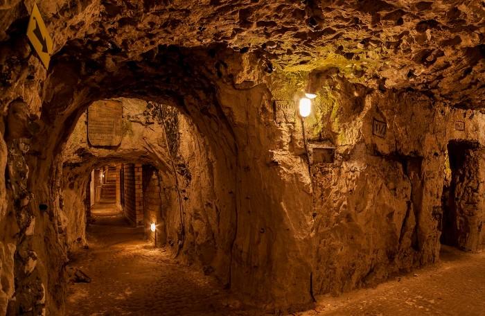 Французский подземный город. /Фото: otomosem.com