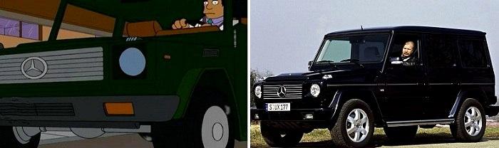 Одна из самых известных немецкий машин не могла не появиться в настолько же знаменитом мультике. /Фото: vk.com
