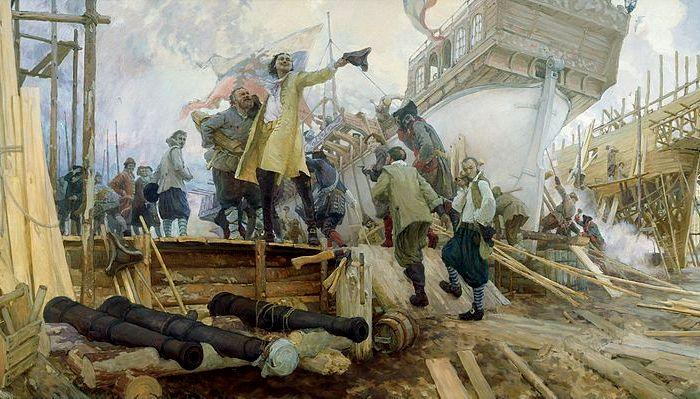В России эпоха интрепеля пришла с формированием императорского флота. /Фото: wikipedia.org