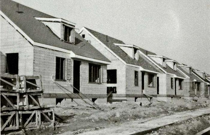 Строительство шло ударными темпами, а дома были доступными. /Фото: vk.com