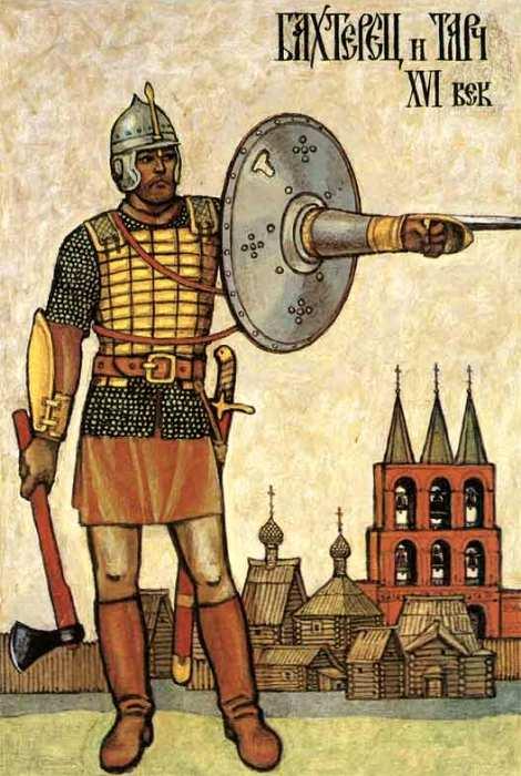 Бехтерец старались делать удобным даже для одевания. /Фото: weapons-world.ru