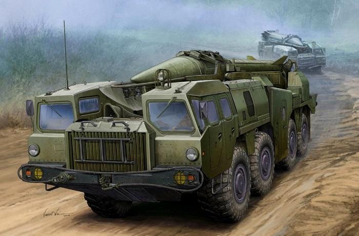 РК Эльбрус на базе МАЗ-543. /Фото: war-book.ru