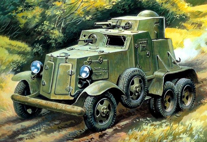 Один из первых известных бронеавтомобилей СССР. /Фото: war-book.ru