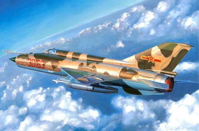 Китайский вариант знаменитого советского истребителя. /Фото: war-book.ru