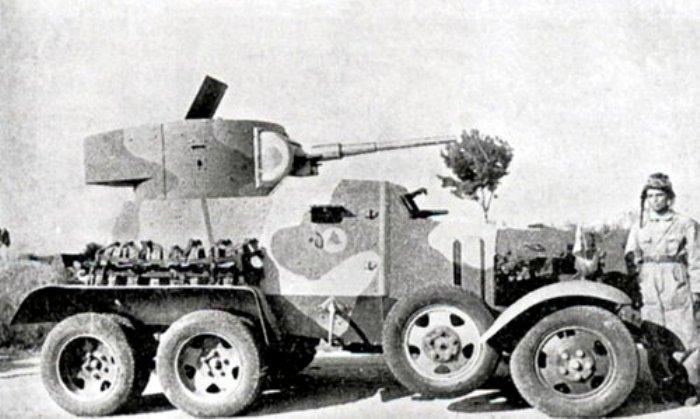 БА-3 на вооружение турецкой армии, 1930-е годы. /Фото: karopka.ru