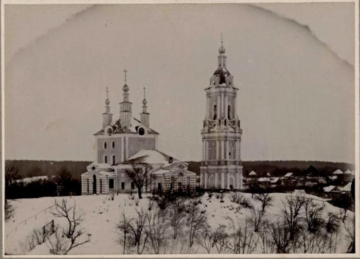 Церковь Параскеры в 1900 году. /Фото: sobory.ru
