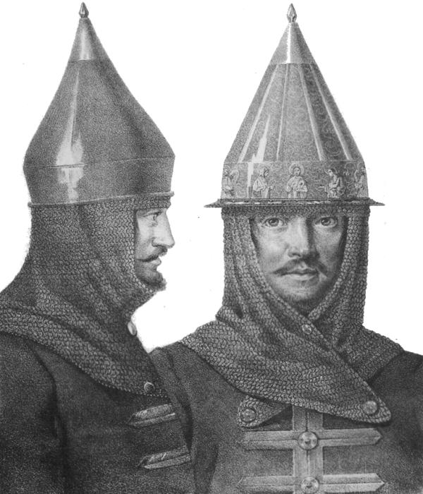 Богатырский шлем - прототип советской буденовки. /Фото: wikipedia.org