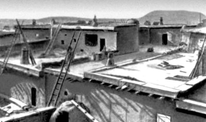 Реконструкция домов пуэбло. /Фото: dic.academic.ru