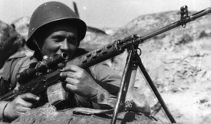В армии СССР винтовка завоевала огромную популярность. /Фото: russian7.ru