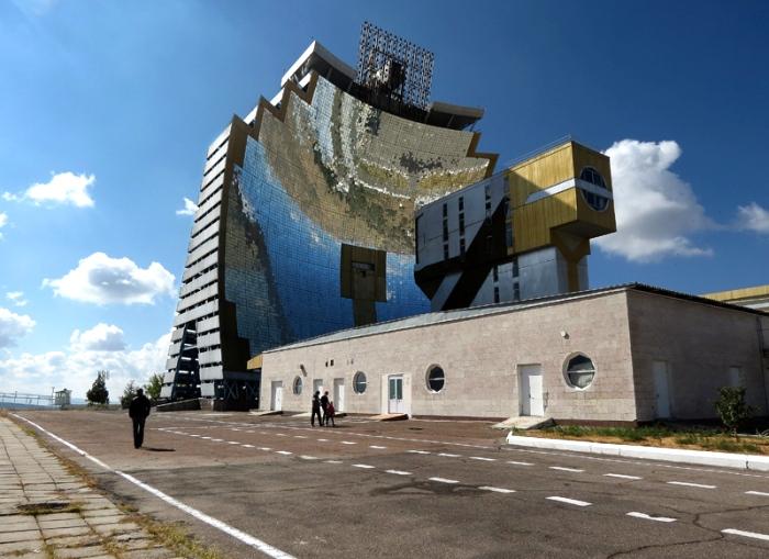 Самая большая в мире печь на солнечной энергии. /Фото: mytashkent.uz