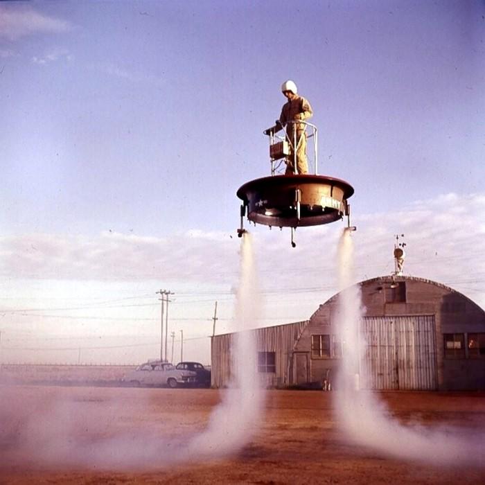 Летающая платформа, оказавшаяся нерациональной для войны. /Фото: masterokblog.ru