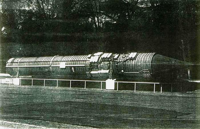 Командная ракета 15А11. /Фото: alternathistory.com