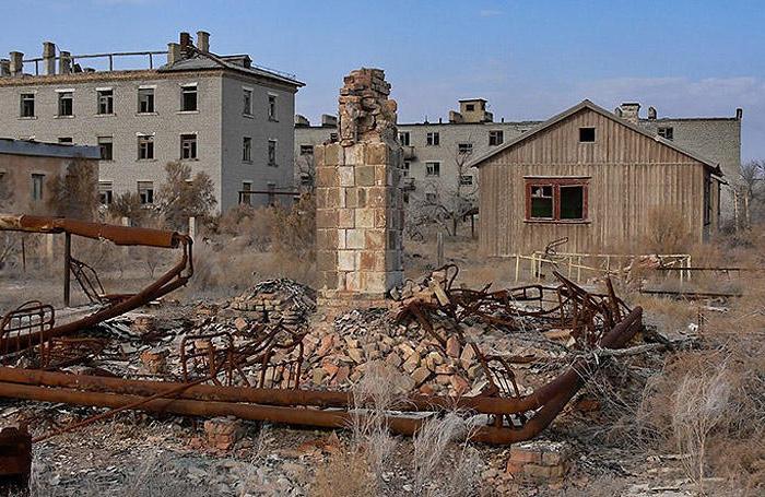Когда-то в этих руинах разрабатывалось биологическое оружие. /Фото: wp.com