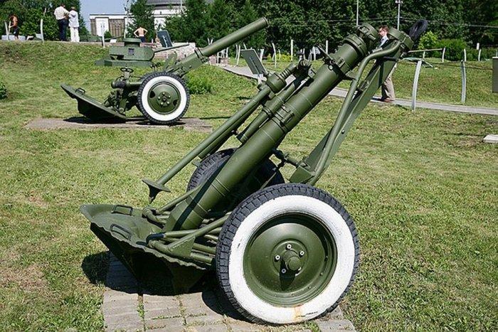 ПМ-38 - предвоеный полковой миномет. /Фото: fishki.net