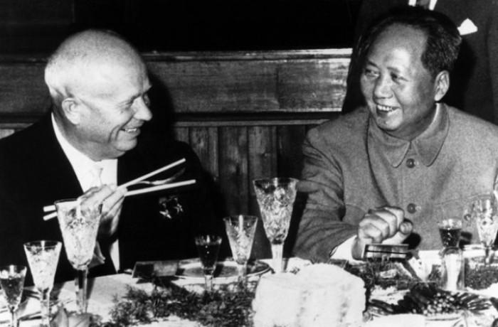 Лидеры двух держав не смогли сохранить хорошие отношения. /Фото: 17qq.com