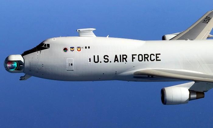 Самолет, который должен был сбивать противника лазером. /Фото: medium.com