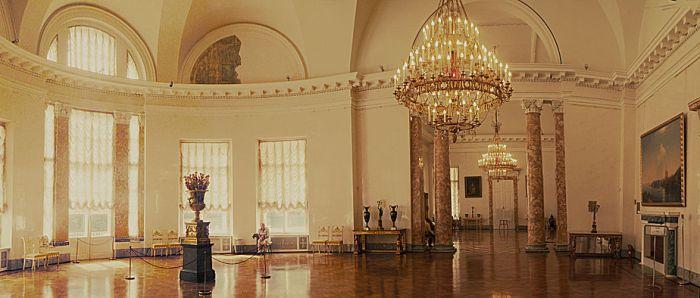 Отреставрированный интерьер Александровского дворца. /Фото: wikipedia.org