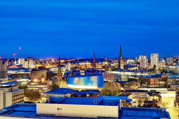 Город Ковентри, современный вид. /Фото: wikipedia.org