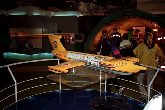 «Спасатель» на выставке в 2000 году. /Фото: wikipedia.org