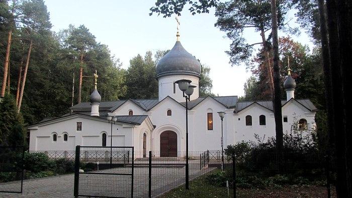 Храм-памятник уничтоженному кремлевскому собору в Королеве. /Фото: wikipedia.org
