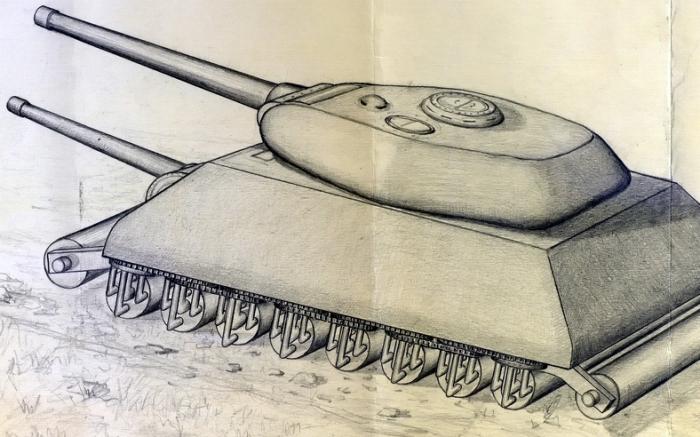 Советский танк без гусениц. /Фото: warspot.ru