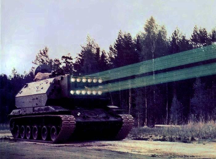 Попытка создать смертоносный танк с лазером. /Фото: osssr.ru