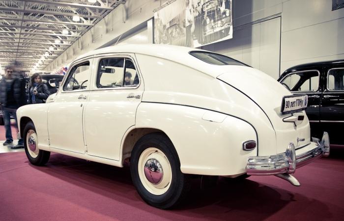 Этот экземпляр легендарной машины для КГБ нашли в Эстонии. /Фото: bigpicture.ru