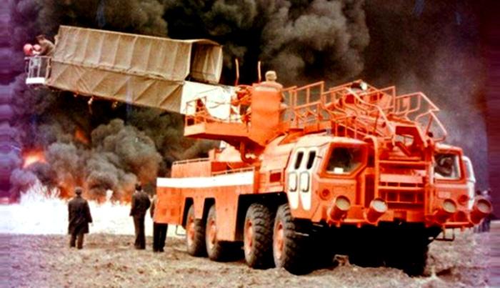 Не самая обычная пожарка Советского Союза. /Фото: wroom.ru