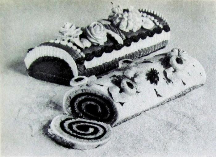 Фото торта «Сказка» в книге «Производство пирожных и тортов», 1976 год. /Фото: subscribe.ru