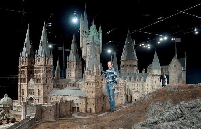 Красивейший и детальный макет волшебной школы Хогвартс. /Фото: wp.com