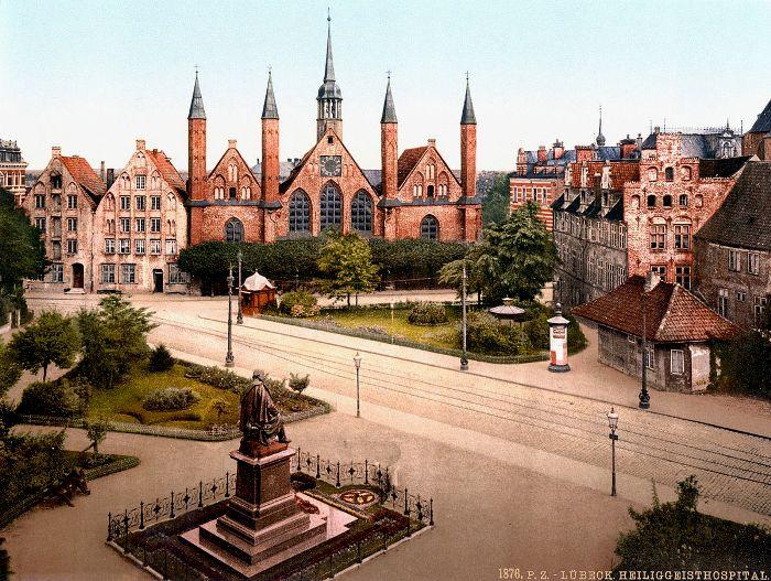 Любек в конце 19 столетия. /Фото: rovdyrdreams.com