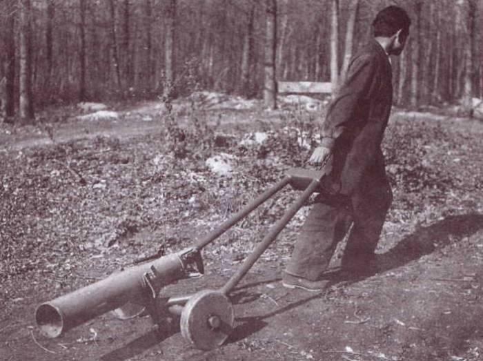 В начале войны ампуломет был многообещающей разработкой. /Фото: topwar.ru