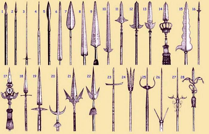 Типов наконечников яри так много и они настолько разнообразны, что все они в бою попросту неприменимы. /Фото: animebox.com.ua