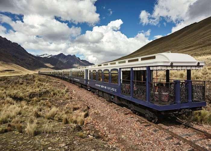 Комфортабельный отель на колесах, где можно наслаждаться видами прямо в пути. /Фото: audleytravel.com