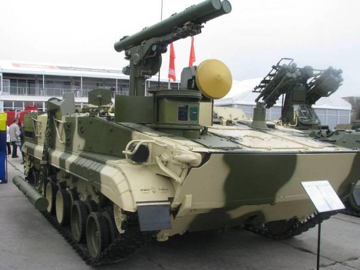 самоходный противотанковый ракетный комплекс «Хризантема». /Фото: topwar.ru
