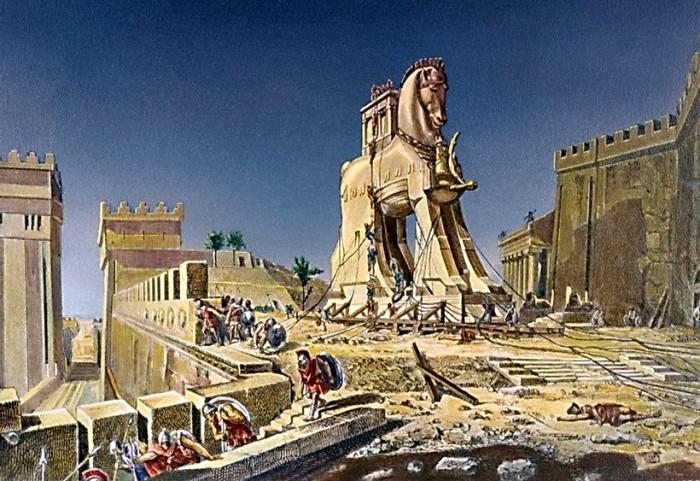 Где в реальности был Троянский конь, неизвестно и сегодня. /Фото: travelask.ru