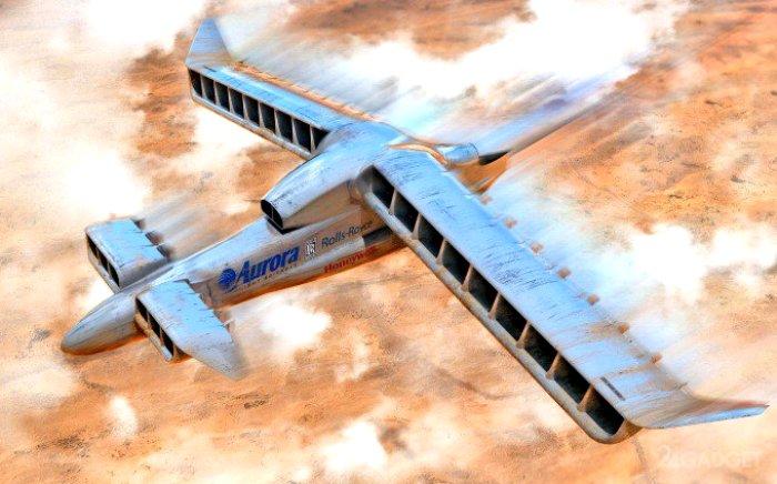 Арт-концепт проекта VTOL X-Plane. /Фото: intelligent-aerospace.com
