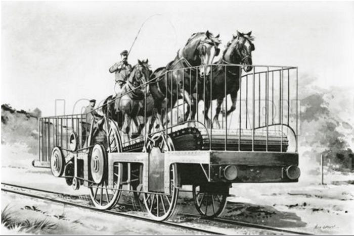 Железнодорожные...лошадиные силы. /Фото: velomobile.org