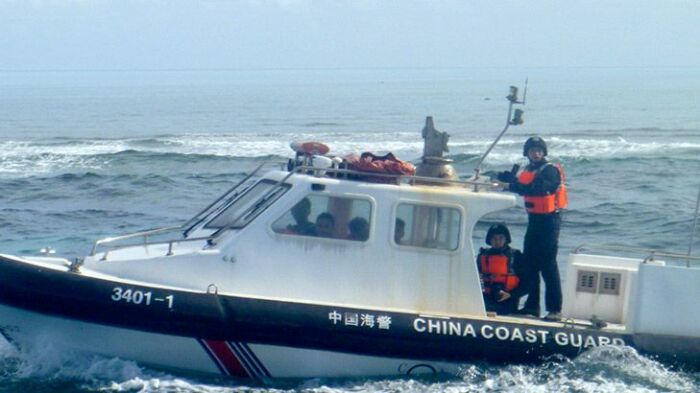 Китайские власти не дают даже приблизится в лакомому кусочку земли в море. /Фото: smh.com.au