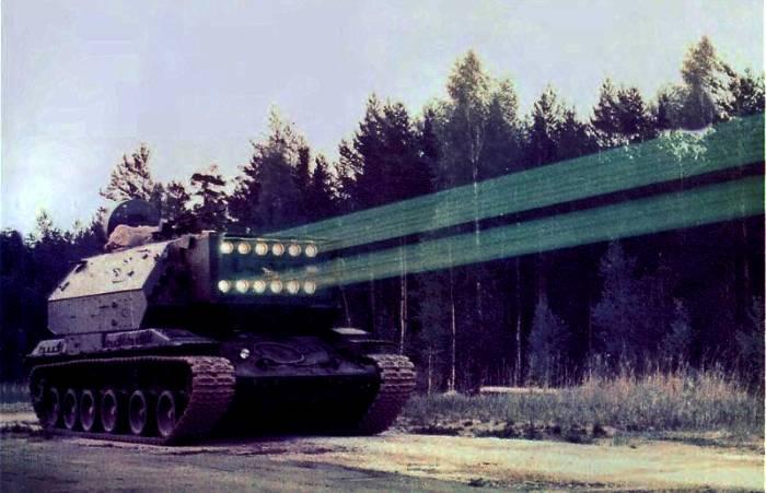 Лазерная пушка на гусеницах. /Фото: topwar.ru