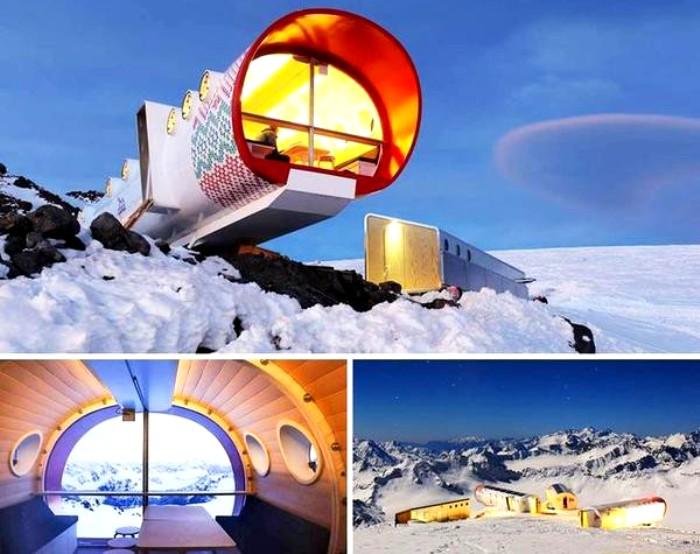 В условиях гор лыжники и альпинисты как никогда нуждаются в хорошем отдыхе. /Фото: wp.com