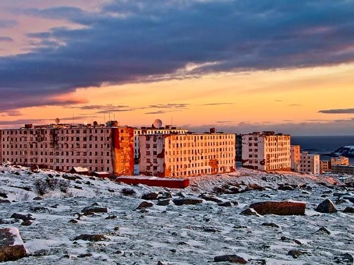 Один из самых малочисленных российских городов. /Фото: pikabu.ru