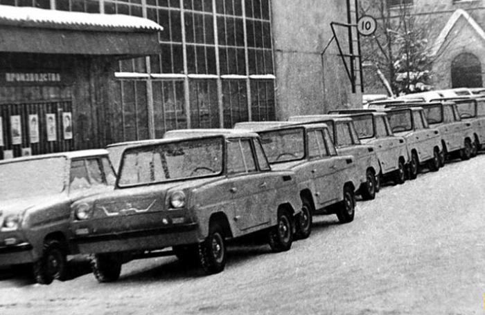 Автомобиль с особой функциональностью. /Фото: topast.ru
