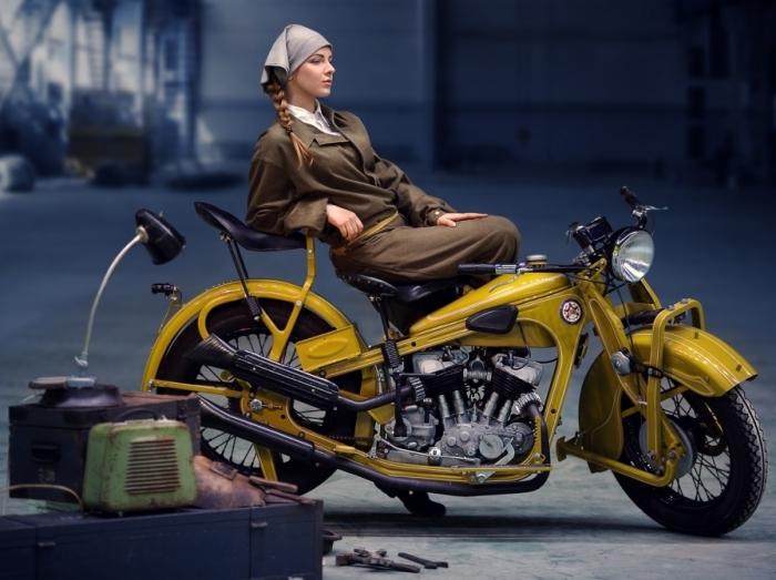 Советский мотоцикл с поразительной историей. /Фото: pikabu.ru