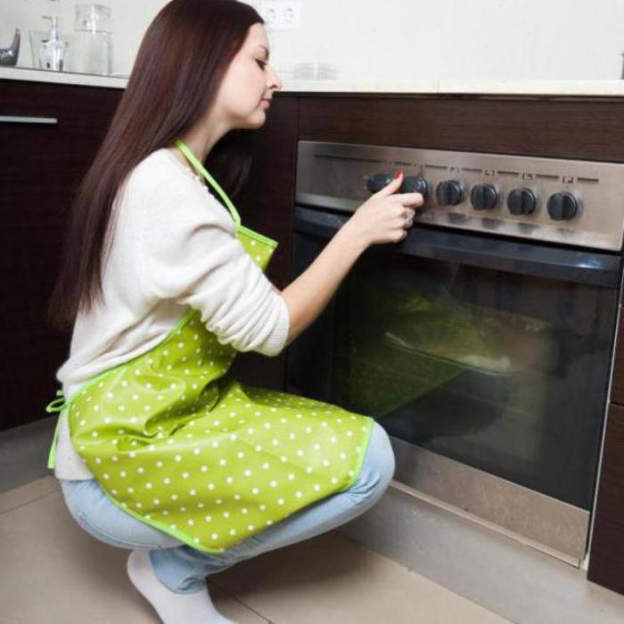 Лампочка в духовке, оказывается, многофункциональная. /Фото: fb.ru