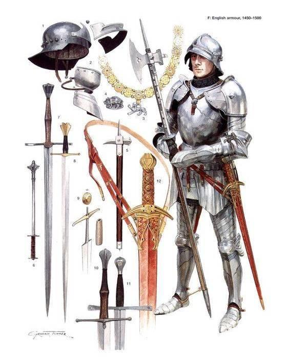Перевязь для меча быстро прижилась в обмундировании рыцарей. /Фото: topwar.ru