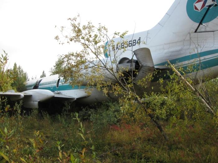 Аварийная ситуация с Ту-154. /Фото: sekretmira.ru