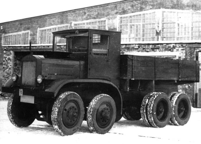 Самый большой и впечатляющий грузовик своего времени. /Фото: weaponews.com
