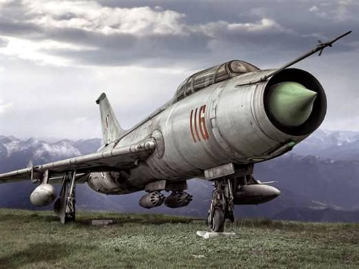 Су-7Б оказался не очень удачным. /Фото: pikabu.ru